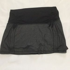 Lululemon skirt with built in shorts